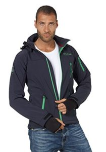 Platz 3 Fifty Five Herren Funktionsjacke